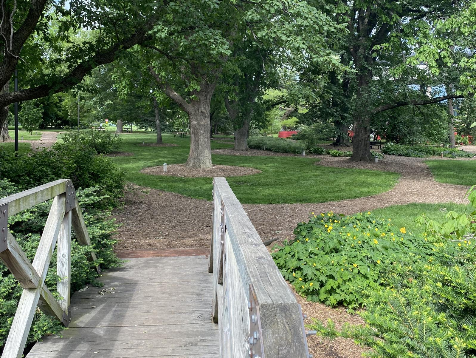 Maxwell Arboretum at the University of Nebraska-Lincoln.