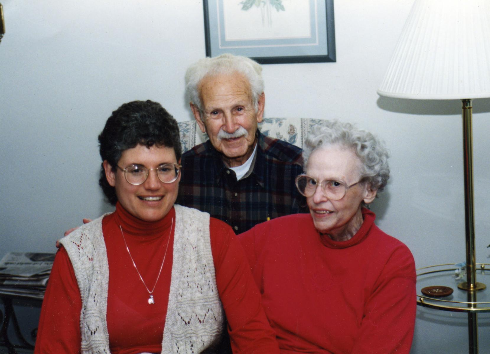 John and Marjorie Hall with Katherine